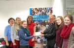 ACS Egham students hand-deliver charity donation to the World Food Programme